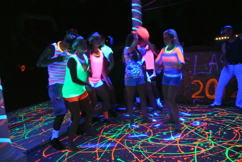 Neon Party Decoration Ideas