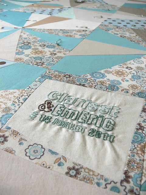 Jenny: Wedding Quilt Progress