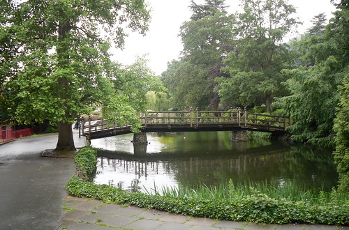 Great Malvern wooden bridge