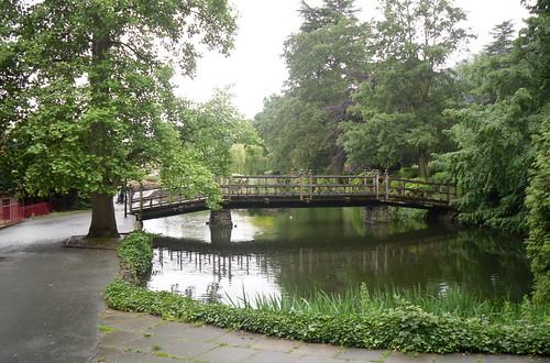 Great Malvern wooden bridge