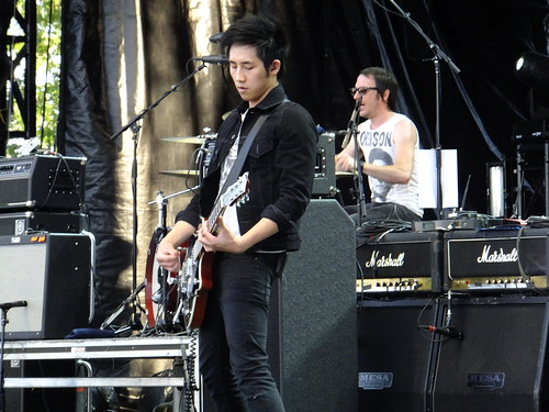 The Airborne Toxic Event at Ottawa Bluesfest 2012