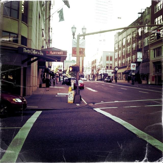 a street in Portland