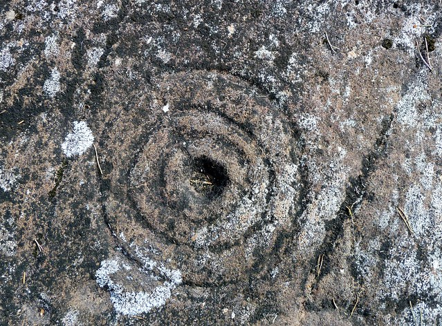 Prehistoric Rock Art at Achnabreck, Kilmartin Glen, Scotland