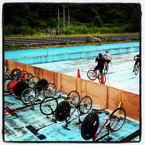 14th, July, 2012 at Tsunagi pool in Morioka.