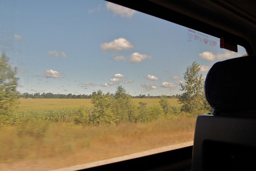 field train landscape corn farm