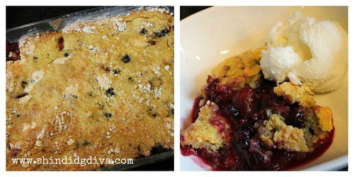 Berry Cobbler Collage 2