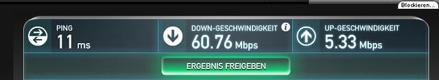 Upload Speed wider OK