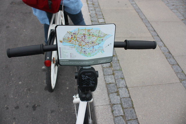 Copenhagen free bike map