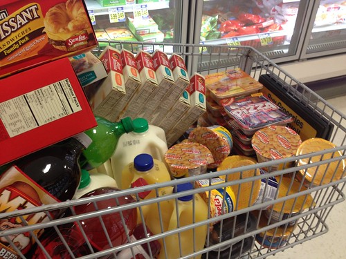 Grocery trip just for the brats