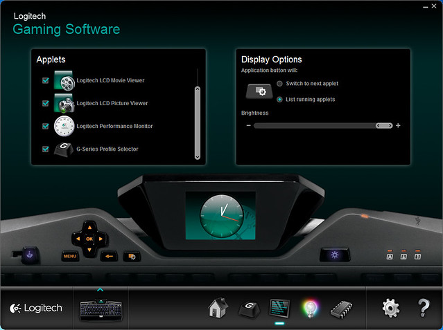 Logitech Gaming Software - Game Panel Settings