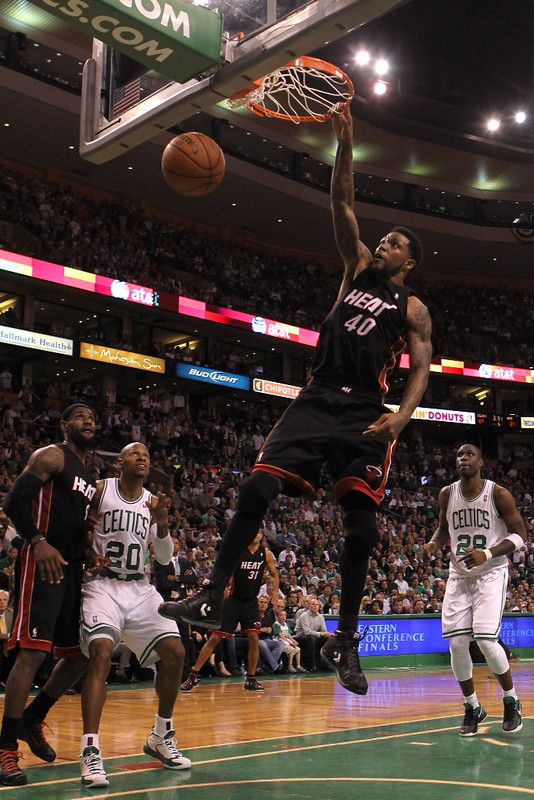 Udonis Haslem made it by focusing on his strengths