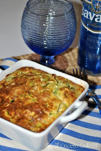 Gratin di zucchine, riso e Cusiè con Pecora e Vacca (1)