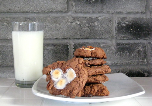 Cookie Man , Marshmallow , Mississippi Mud Cookies , Recipes