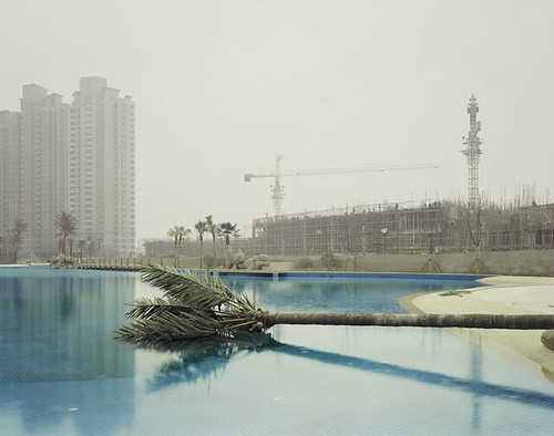 Nadav Kander, Nanjing II (Metal Palm), Jiangsu Province