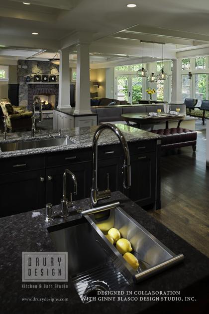 Transitional kitchen for Gail drury kitchen designs