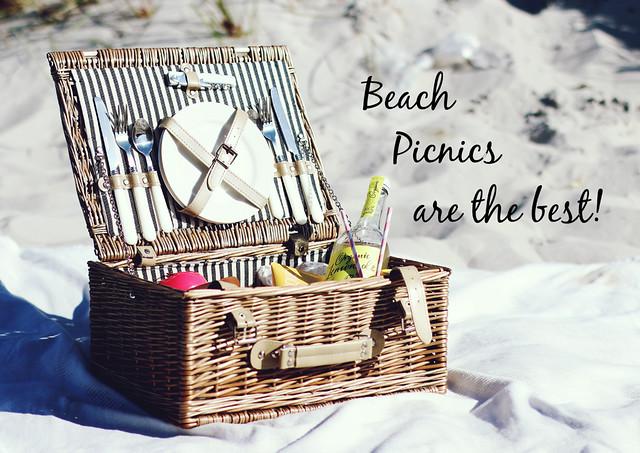Picknickkorb Strandpicknick 1