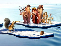 [Poster for Ice Age: Continental Drift]