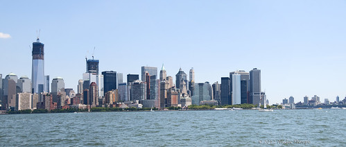 pano lower manhattan by Alida's Photos
