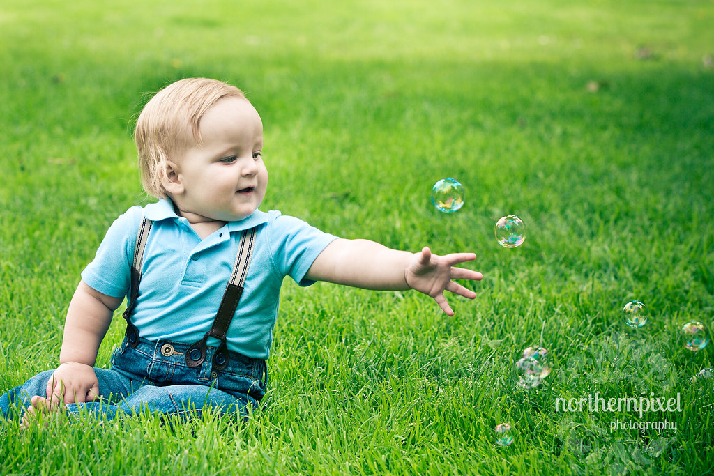 Bubbles at the Park