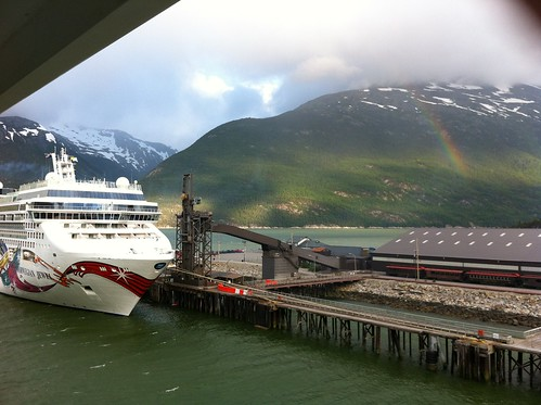 Skagway - Welcoming Rainbow