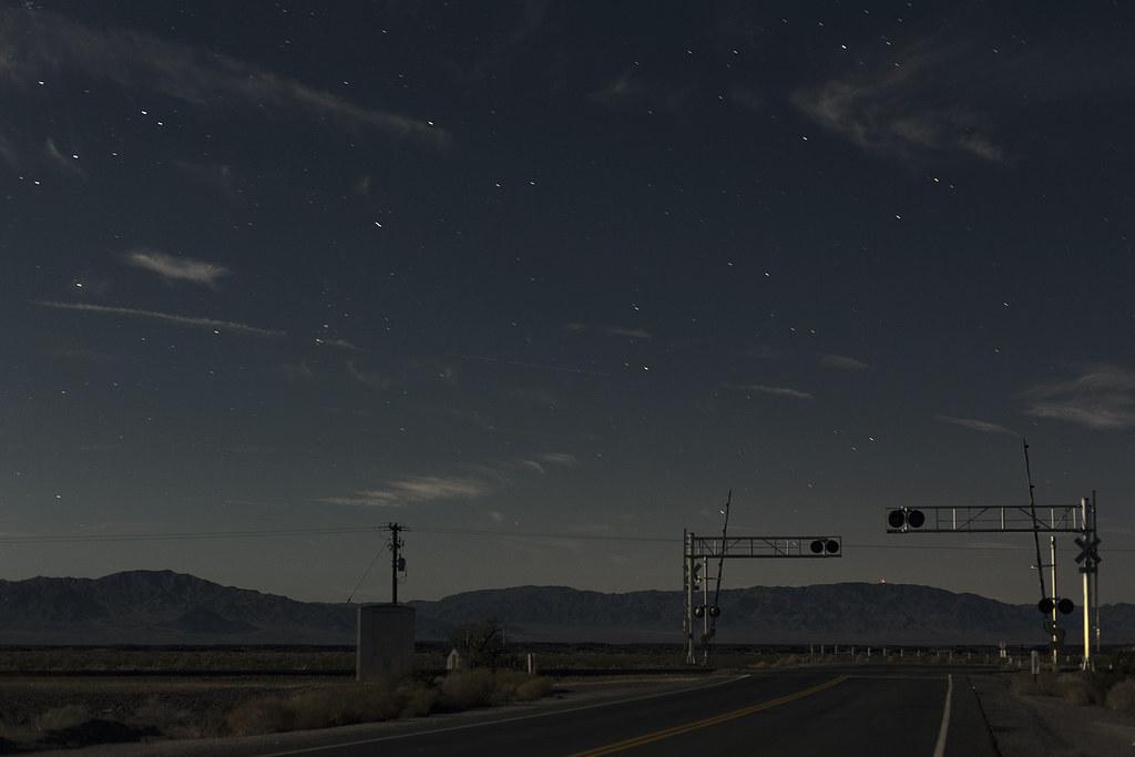 Matus Bence Diary — Mojave Desert, Railroad Crossing At