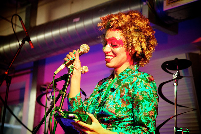 Martina Topley-Bird performing in Brick Lane, 2010 ©Aurelien Guichard/ROH 2012