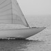 Small photo of An old wooden racing boat