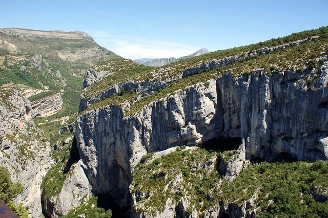 Gargantas del Verdon, la Provenza, Francia