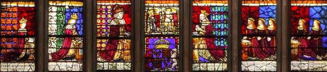 Canterbury Cathedral: Royal Window