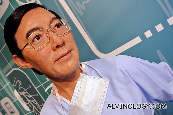 Famous Australian-Chinese Victor Chang,  one of Australia's best heart surgeons