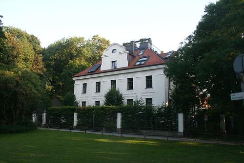 Ehemalige Villa des Kraftwerksdirektor Muffathalle - Maximiliananlagen
