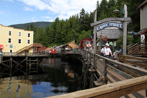 Ketchikan - Other Entrance to Creek Street
