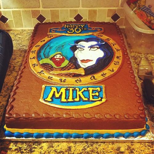 WoW cake...nerdtastic.