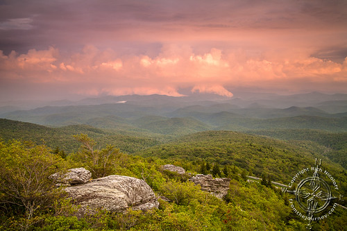 sunset mountains clouds nc rocks northcarolina hike journey blueridgeparkway grandfathermountain brp roughridge tanawhatrail linncove fiveoff photographyfromthejourney