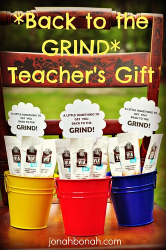 Back to the GRIND {Teacher's Gift}