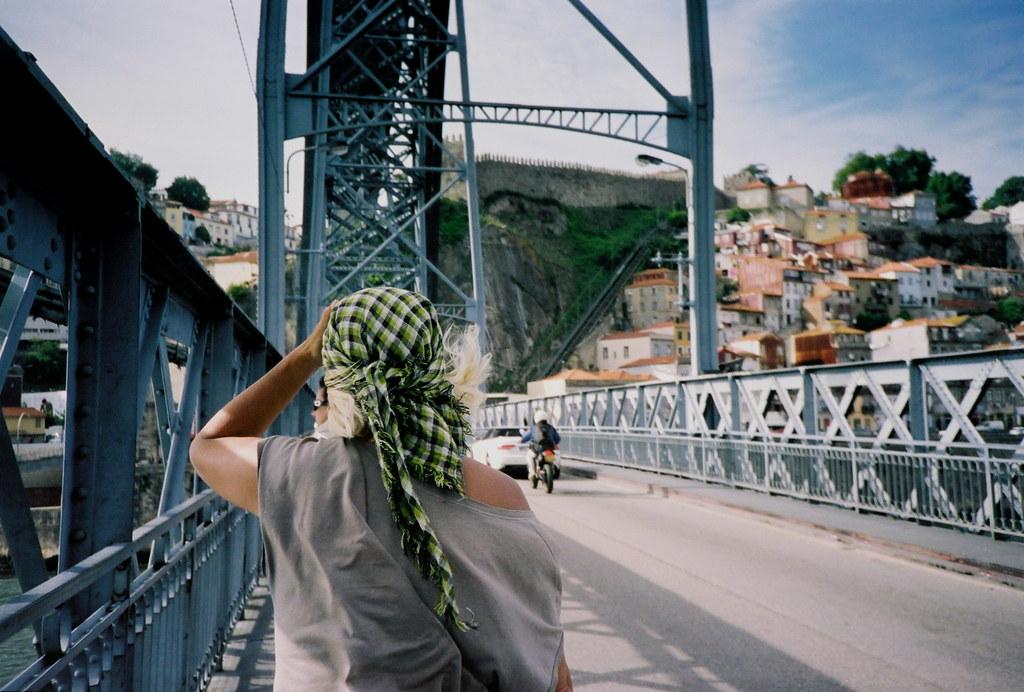 Mum, Porto, June 2012.