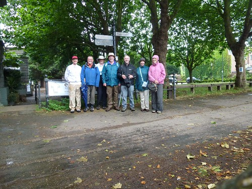 Thames Path 03 - Mark (me), Bill, Mary, Pete, Alan, Blanche, Andrea