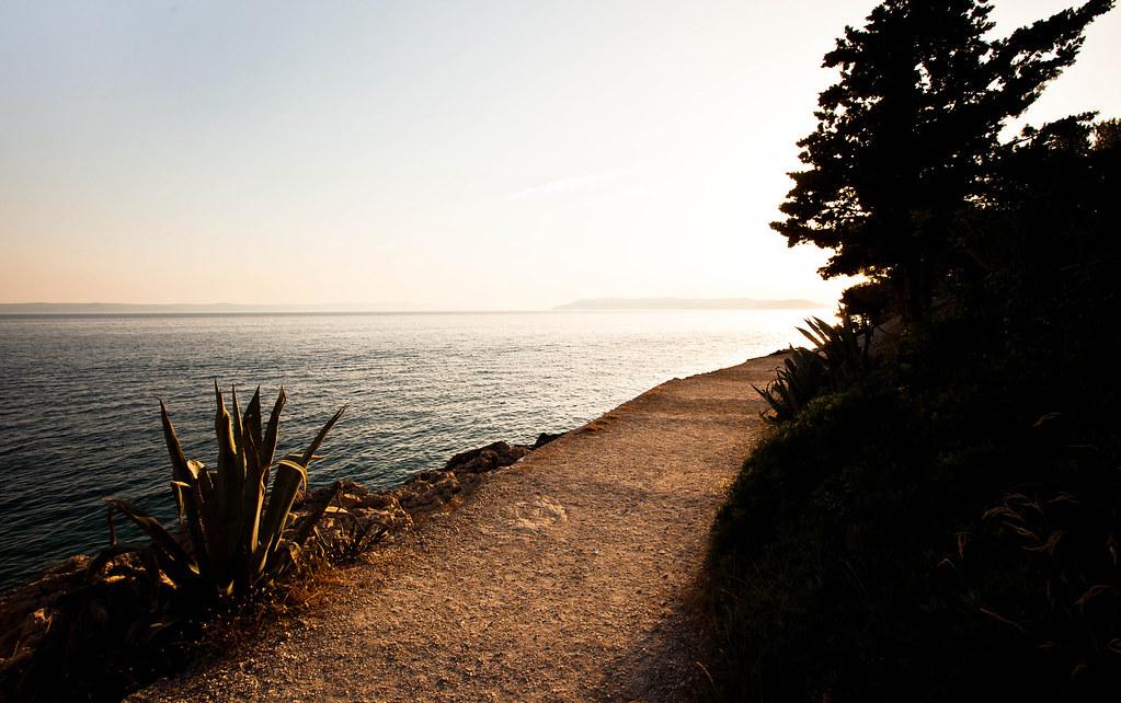 Auringon paahtama Makarska