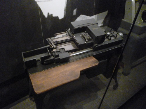 IBM Card Machine - Holocaust Museum