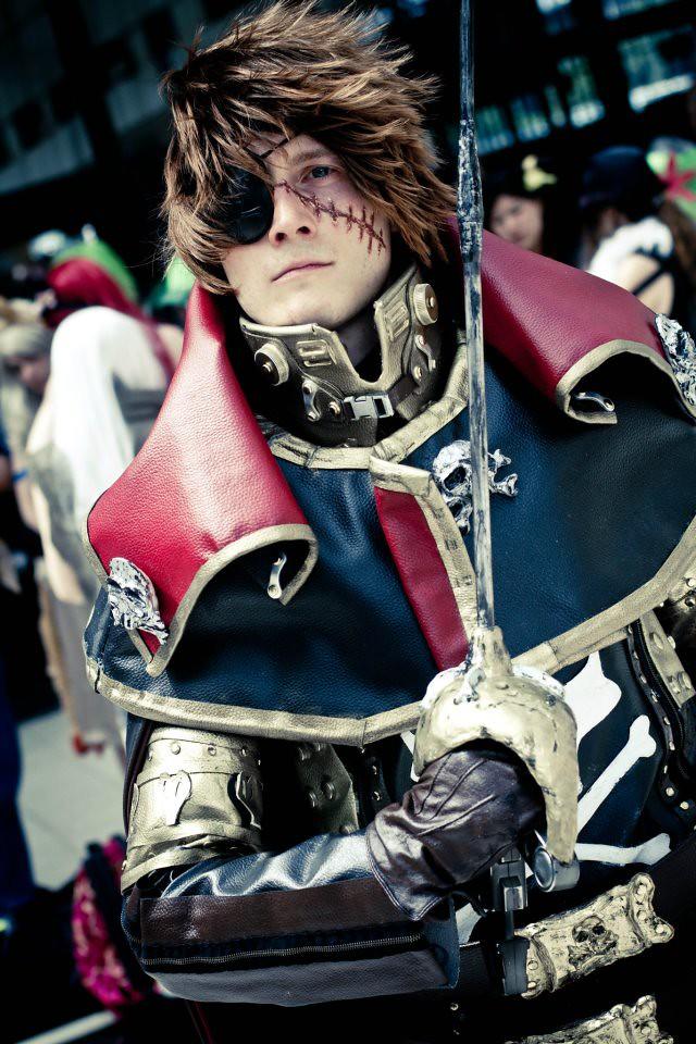 Harlock, cosplay