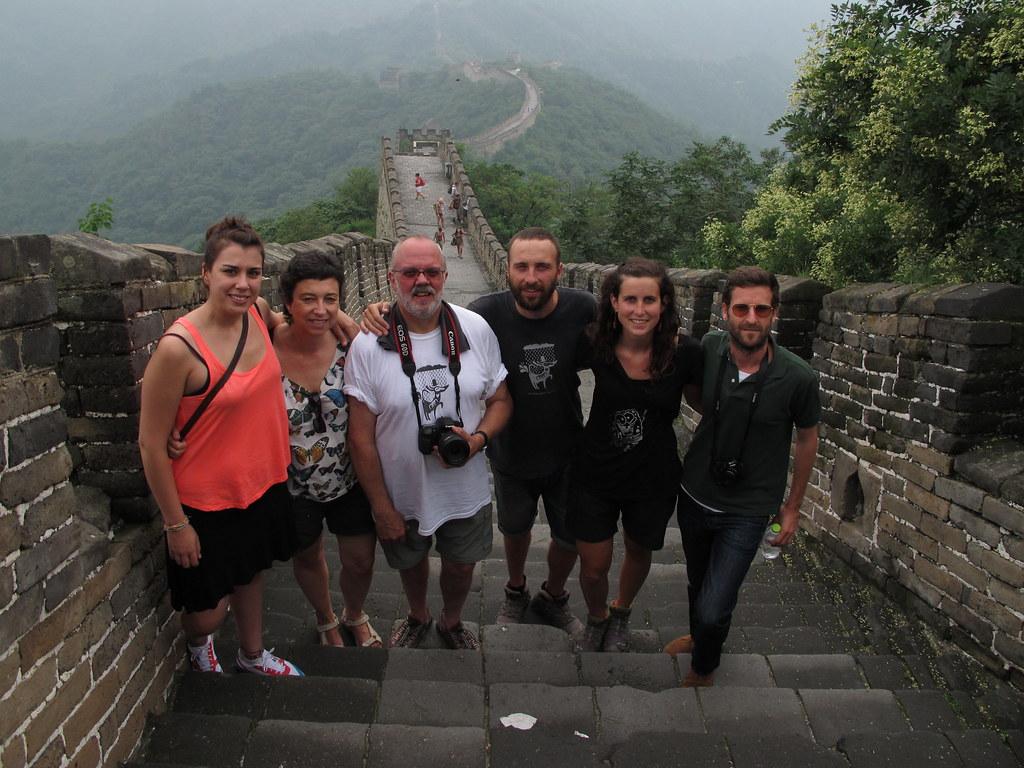 La Gran muralla a Mutienju (Beijing, Xina)