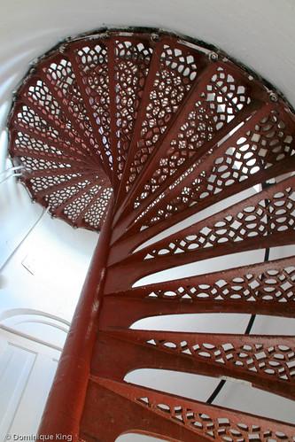 Stairs, Eagle Harbor Lighthouse, Lake Superior
