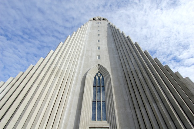 Hallgrimskirkja up close