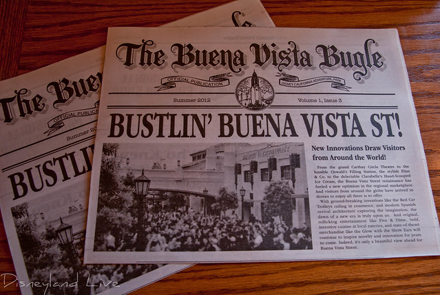 Buena Vista Street Bugle Volume 1, Issue 3