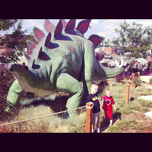 More dinosaurs.