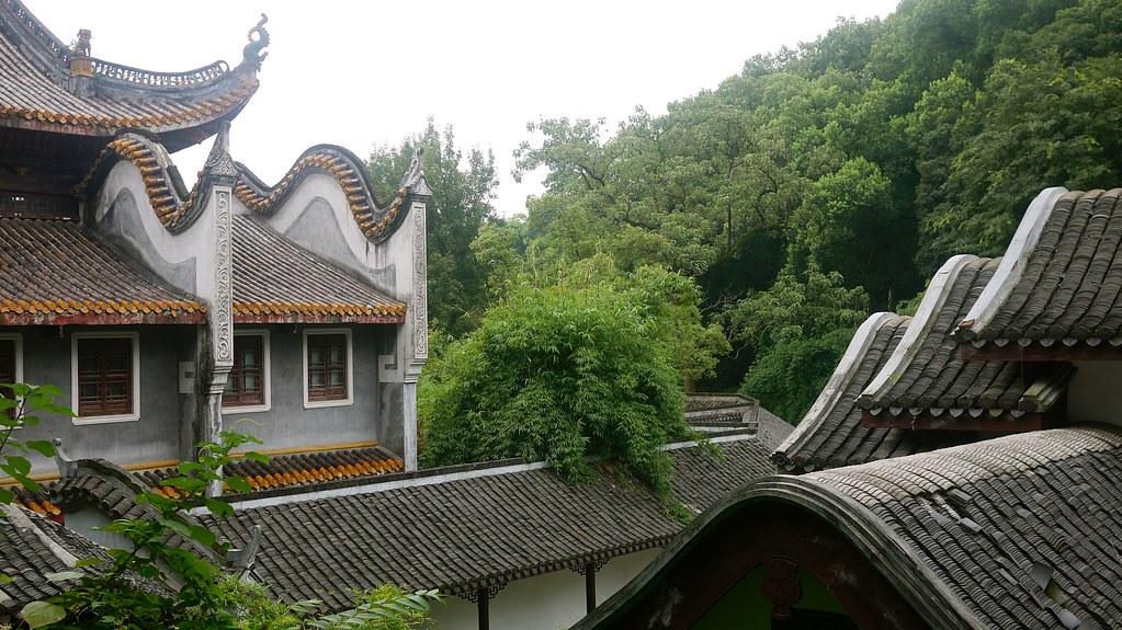 Yuelu Academy Rooftops