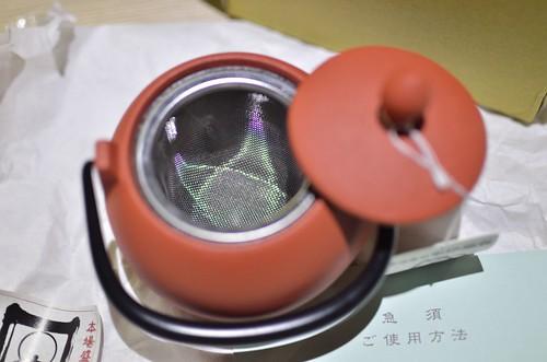 茶壺內有濾網
