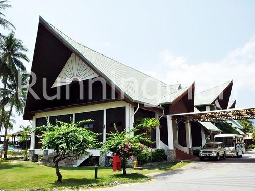 Berjaya Tioman Resort 01 - Resort Facade