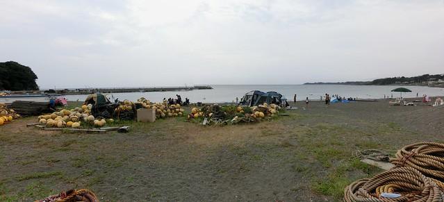 三浦半島 和田長浜海水浴場