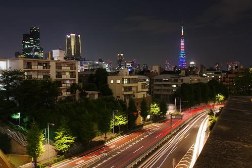 東京タワー@六本木ヒルズ